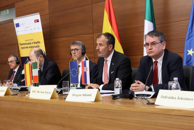 EU Ambassadors: Serbia Must Adopt Anti-Corruption Law As Soon As Possible